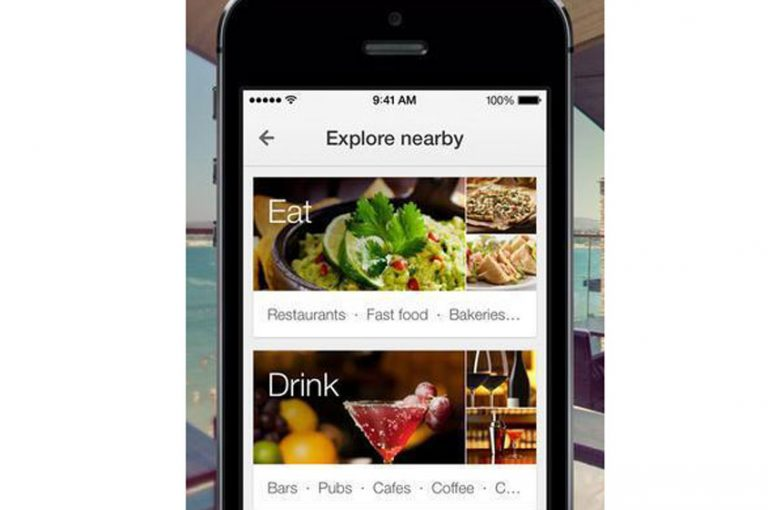 Discover restaurants near me with Google