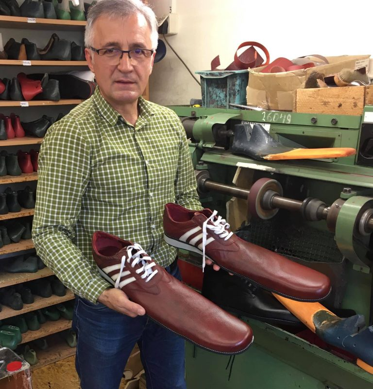 Shoemaker launches size 75 shoe collection for physical distance