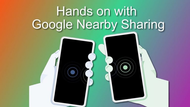 Android: Google Confirms for Nearby Sharing